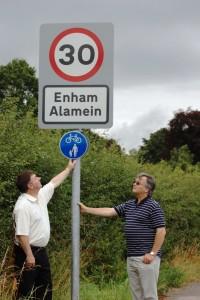 Enham speed limit