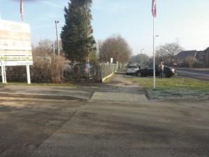 parking at Shepherds Spring